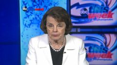 VIDEO: Feinstein Says Bernie Sanders Campaign All But Over