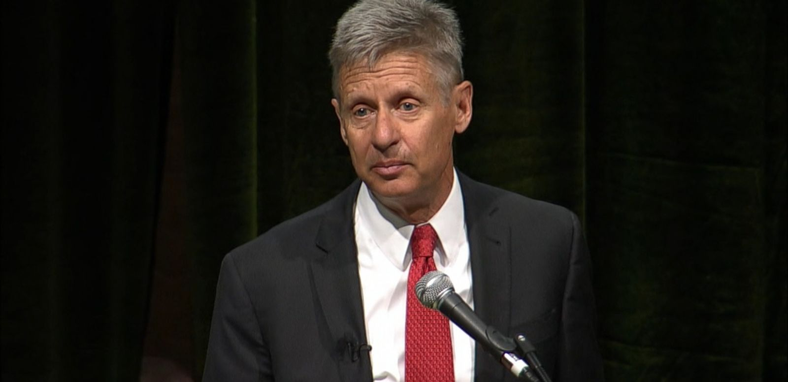 VIDEO: Former New Mexico Gov. Gary Johnson has won the Libertarian nomination for president.