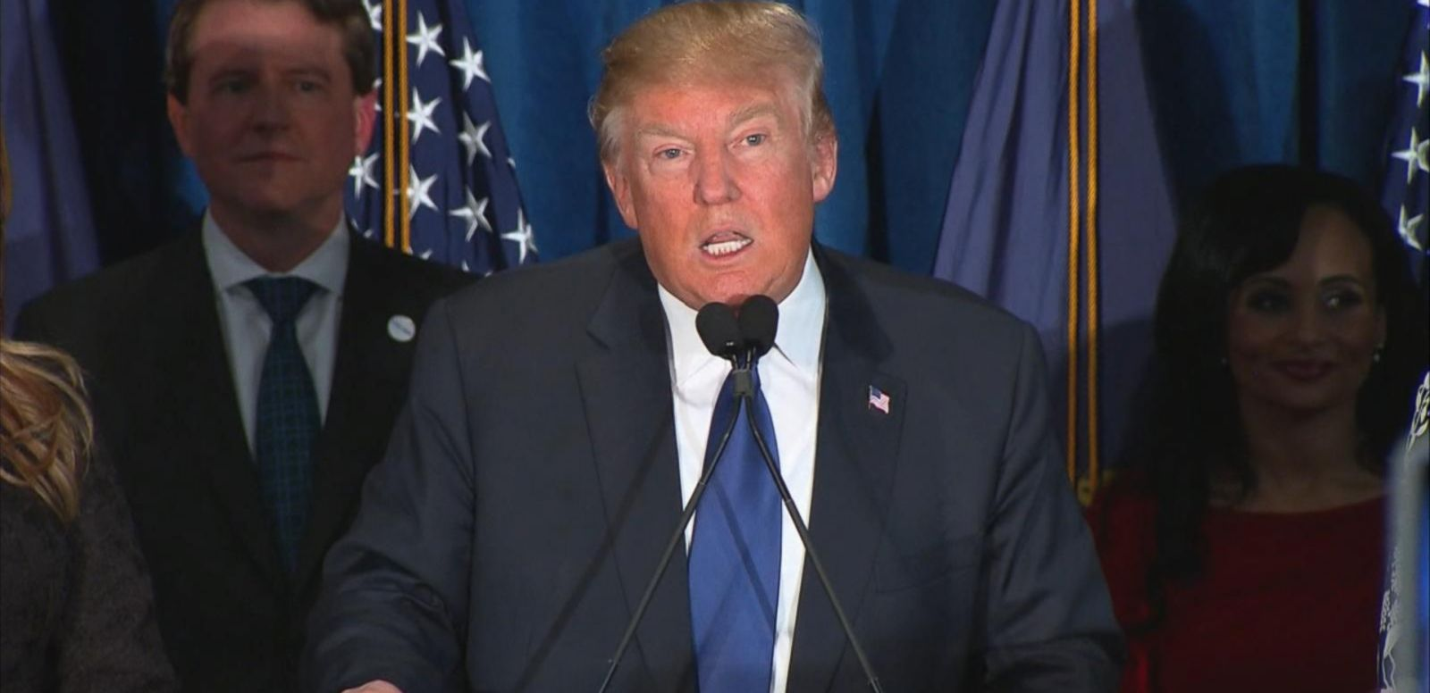 VIDEO: Trump Projected to Win Republican New Hampshire Primary