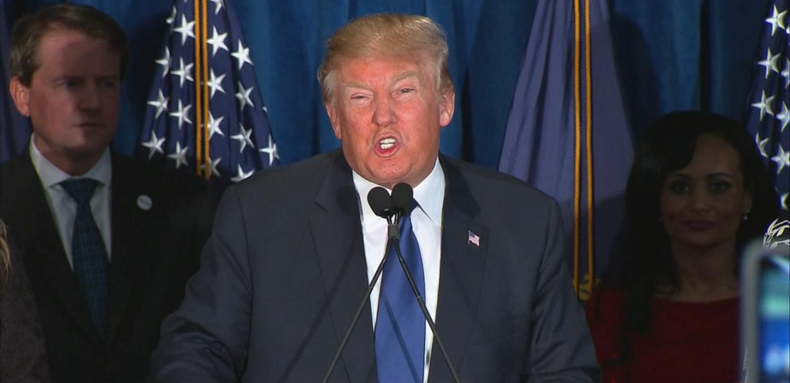 VIDEO: Trump Gives Victory Speech Following New Hampshire Win