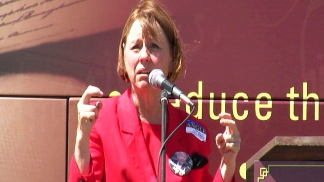 Video: Sharron Angle tells crowd autism is a mandate.