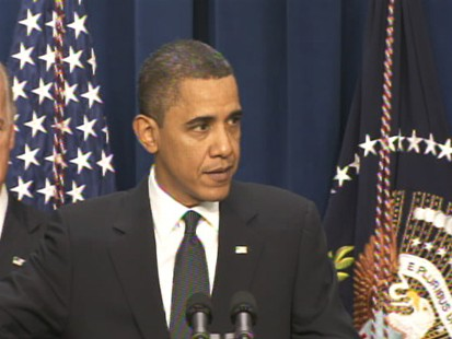 Video of President Barack Obama on stimulus one year anniversary.