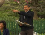 Video of the first family enjoying the White House Easter egg roll.