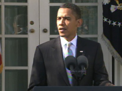 Video President Barack Obama on the jobless rate.