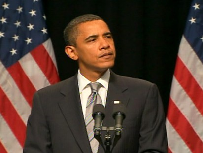 Video of President Obama touting the new G.I. bill.