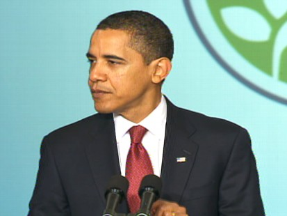 Video of Barack Obama at the stimulus implementation conference.