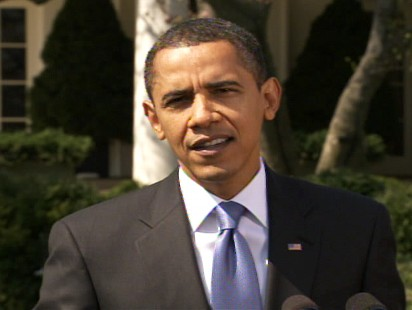 "Video of Barack Obama telling reporters that he has ""complete confidence"" in Treasury Secretary Geithner."