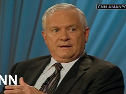 ABC News video of Secretary of Defense Robert Gates on General McChrystal at George Washington University.