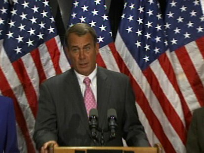 Video of Republican Leader John Boehner on health care reform.