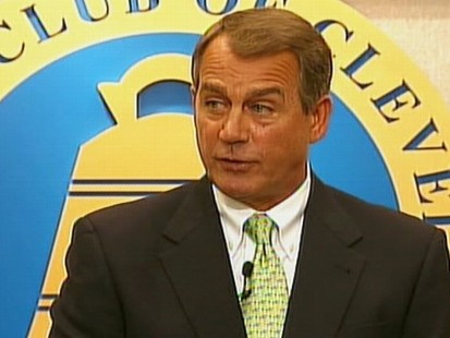 Video: Rep. Boehner remarks on if he were Speaker of the House.