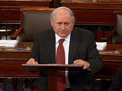Video of Sen. Carl Levin saying no to sending more US combat troops to Afghanistan