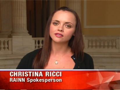 Video of Christina Ricci on ABCs Top Line