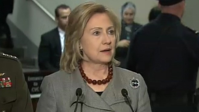 VIDEO: Hillary Clinton: US Pledges 150 Million For Egypt