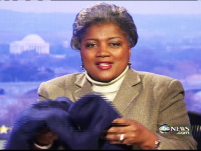 Video of Donna Brazile talking about stealing President Barack Obamas blanket at the inaugural ceremony.
