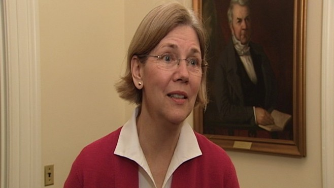 Video of Elizabeth Warren on Supreme Court pick.