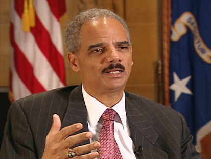 ABC News interview with Attorney General Eric Holder.
