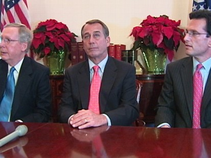 VIDEO: GOP Leadership Encouraged By White House Meeting