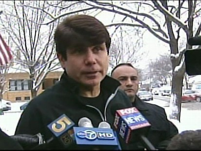 Video of Gov. Blagojevich discussing an upcoming announcement.