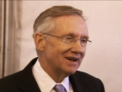 Video of Senator Harry Reid saying he has apologized to President Obama.