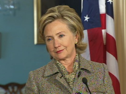 Video of Hillary Clinton addressing U.S. relations with Yemen.