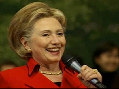 """Video of Secretary of State Hillary Clinton in South Korea acting as an """"advice columnist."""""""