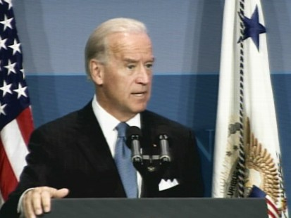 Video of Vice President Joe Biden touting the recovery act and the success of the stimulus.