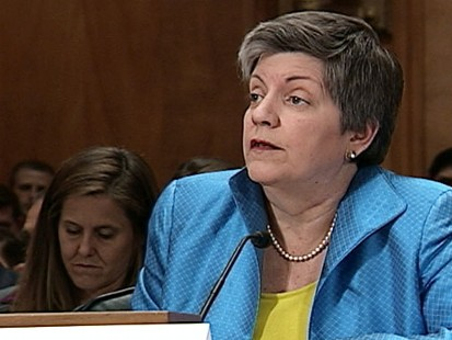 Video of Secretary Janet Napolitano talking about Arizona law.