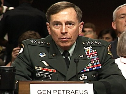 Video: General Petraeus confirmation hearing.