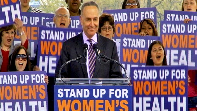 WATCH: Sen. Schumer Defends Planned Parenthood
