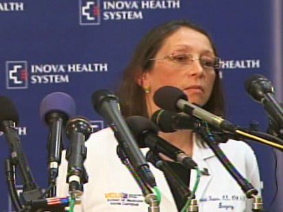 Video of hospital press conference on Senator Harry Reids wife.