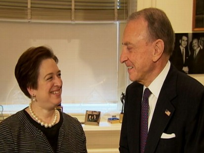 Video of Senator Arlen Specter discussing meeting with Elena Kagan.
