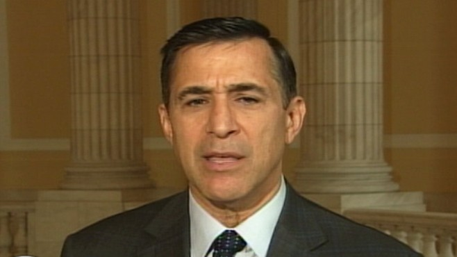 """Video: Rep. Darrell Issa R-CA., on """"Top Line."""""""