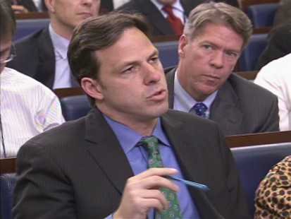 ABC News video of todays White House Briefing.