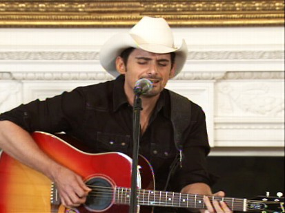 ABC News video of country musicians at the White House.