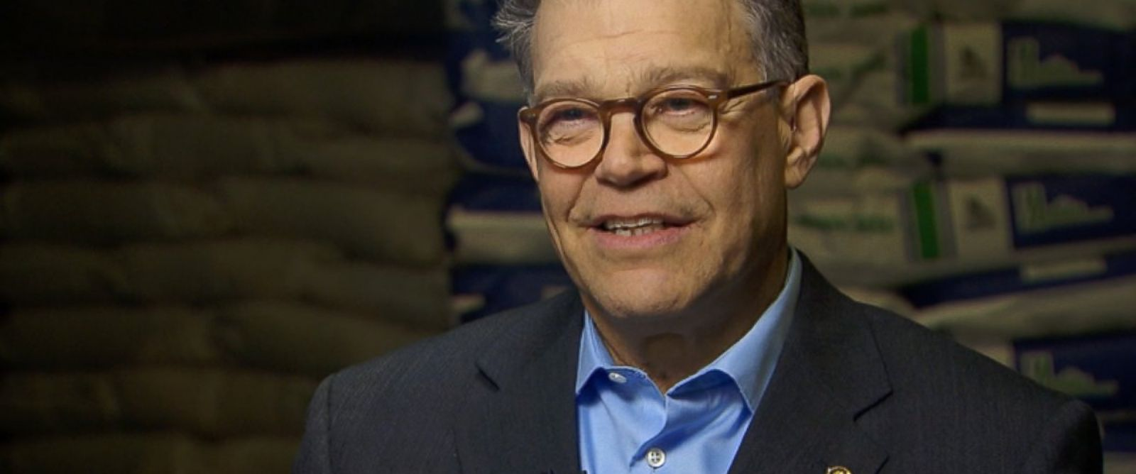 PHOTO: Senator Al Franken (D) Minnesota on This Week