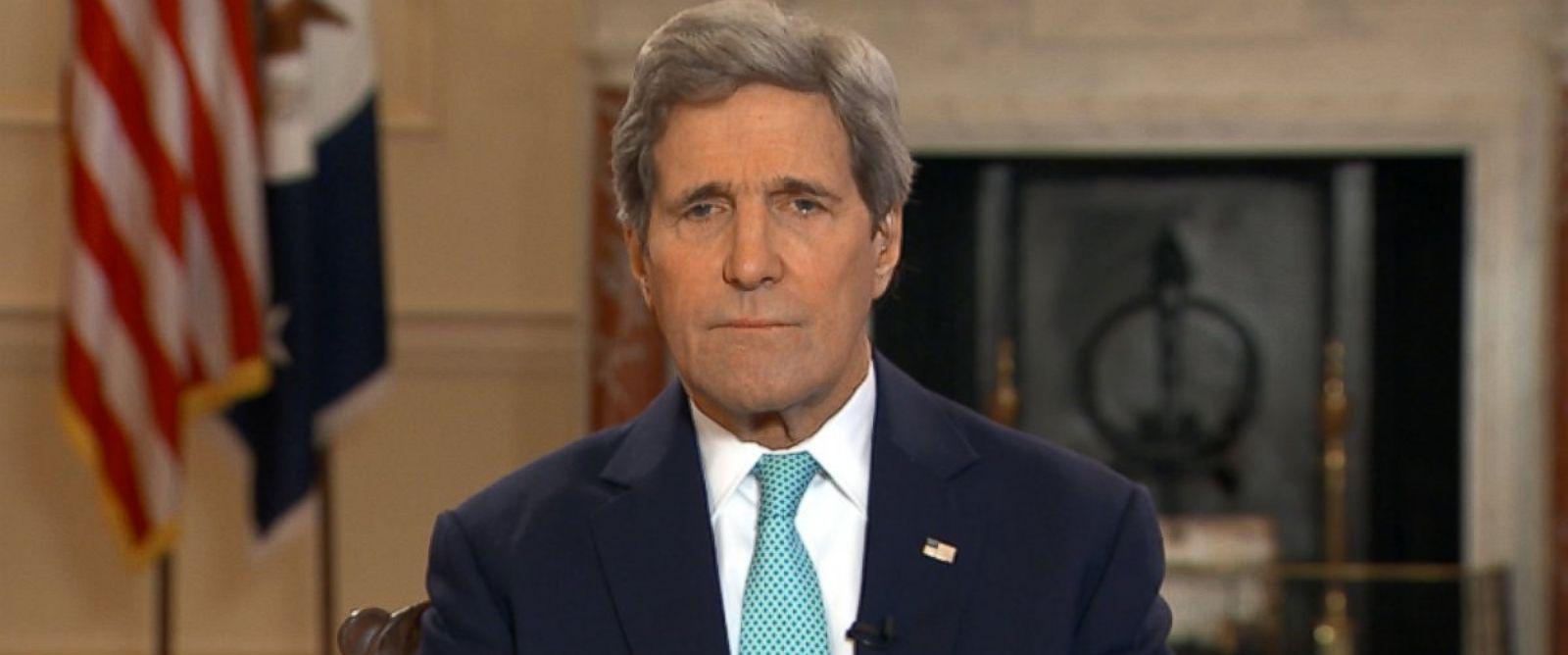Secretary of State John Kerry on This Week