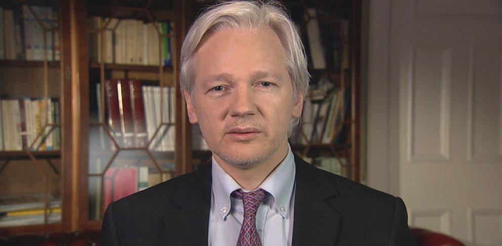PHOTO: WikiLeaks Founder Julian Assange on This Week