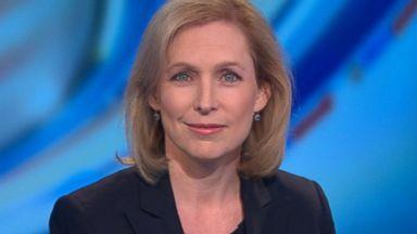 PHOTO: Senator Kirsten Gillibrand (D) New York on This Week