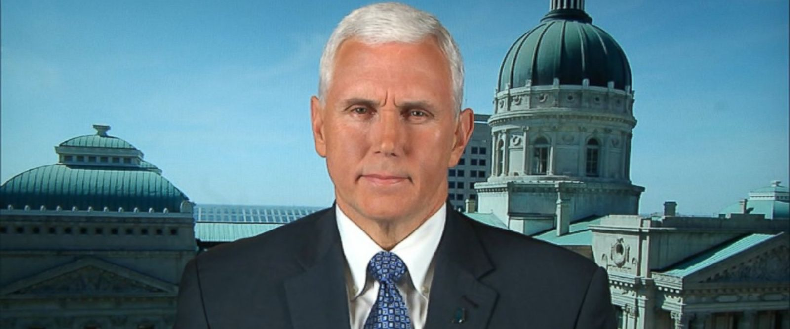 PHOTO: Gov. Mike Pence on This Week