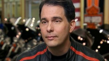 """PHOTO: Gov. Scott Walker, R-Wisconsin, on ABCs """"This Week with George Stephanopoulos."""""""