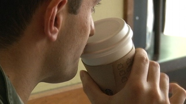"""VIDEO: Washington, D.C., employees will write """"Come Together"""" on every cup of coffee sold."""