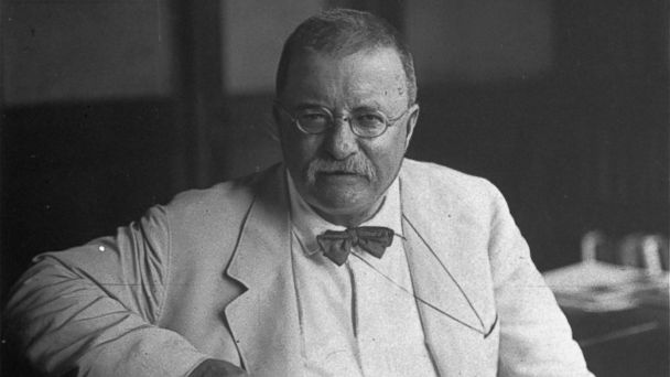 PHOTO: In this archival photo, Theodore Roosevelt is pictured in 1917.