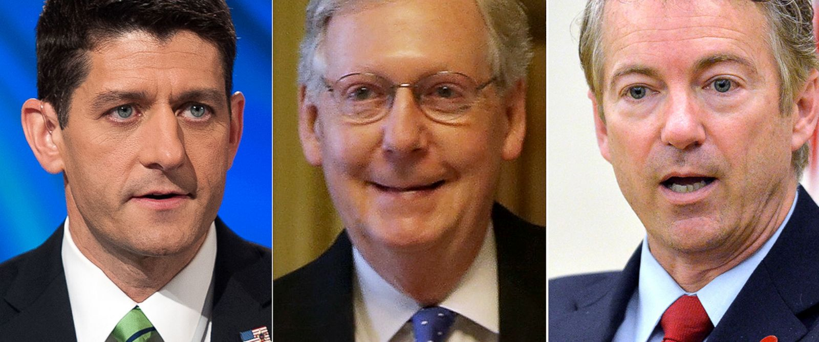 PHOTO: Top Republicans Paul Ryan, Mitch McConnell, and Rand Paul took to the Wall Street Journals CEO Council Monday and Tuesday at the Four Seasons Hotel in Washington, D.C. to pitch their ideas for the next session of Congress.