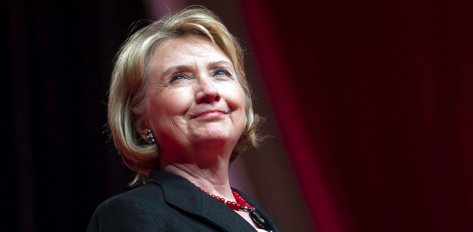 PHOTO: Former Secretary of State Hillary Rodham Clinton