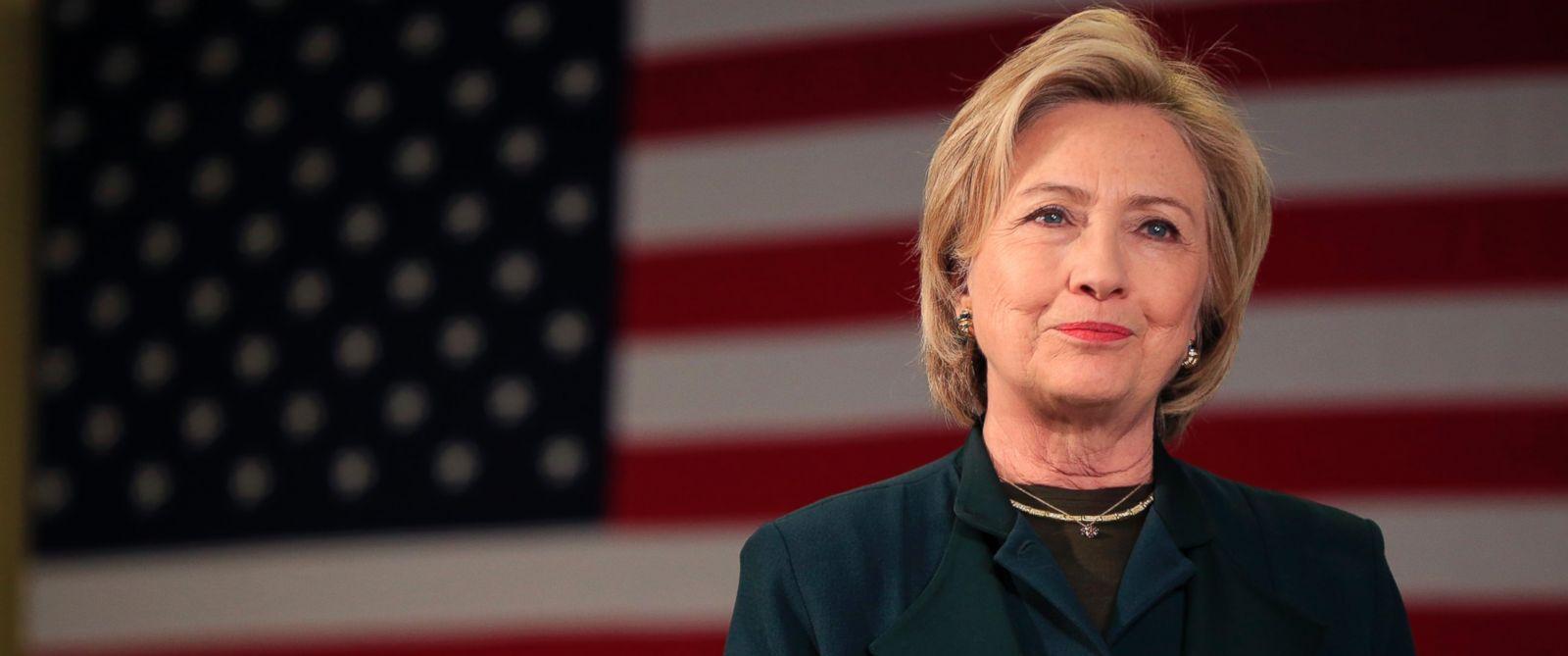 Photo Democratic Presidential Candidate Hillary Rodham
