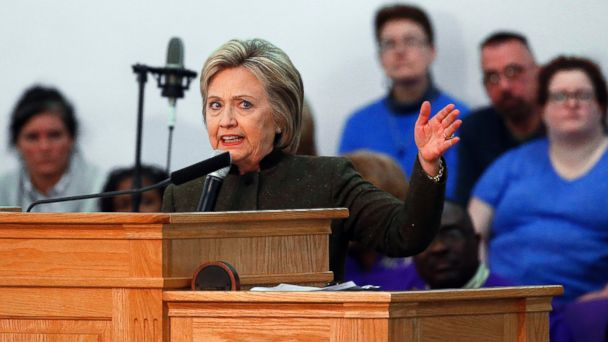 politics hillary clinton blasts states neglect flint water crisis story