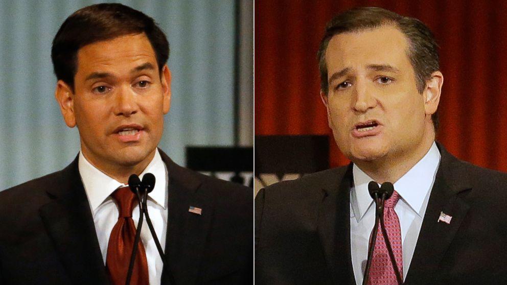Rubio and Cruz.