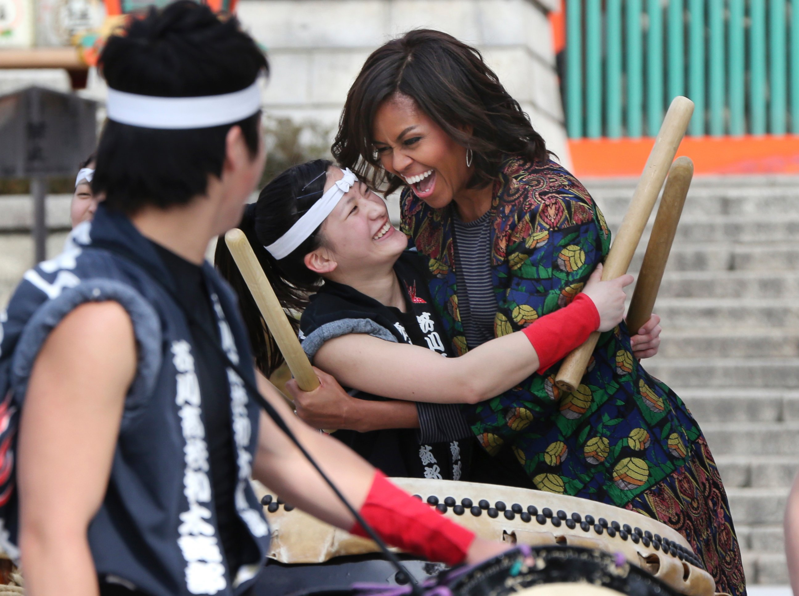 Michelle Obama Visits Japan