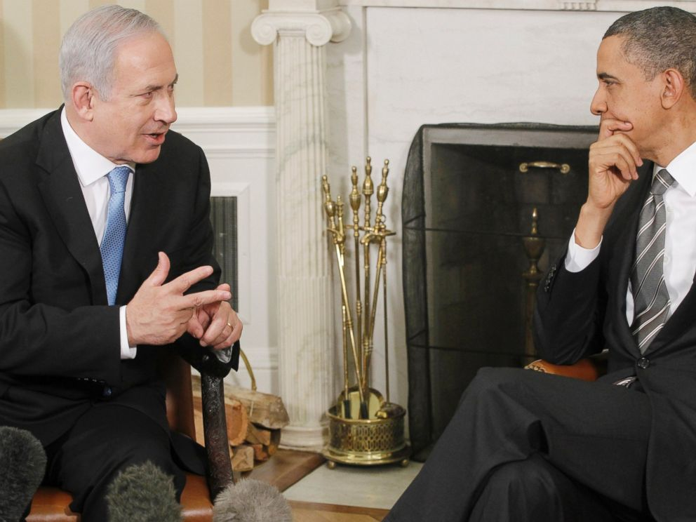 PHOTO: President Barack Obama meets with Prime Minister Benjamin Netanyahu of Israel in the Oval Office at the White House in Washington, May 20, 2011.