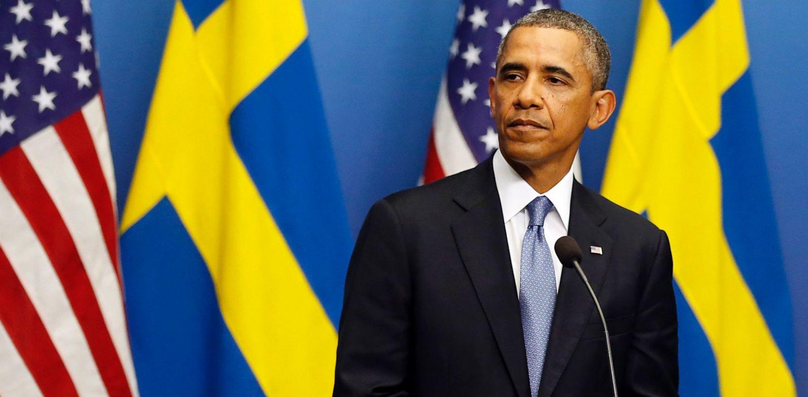 PHOTO: Obama In Sweden